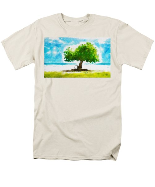 Men's T-Shirt  (Regular Fit) featuring the painting Summer Magic by Greg Collins