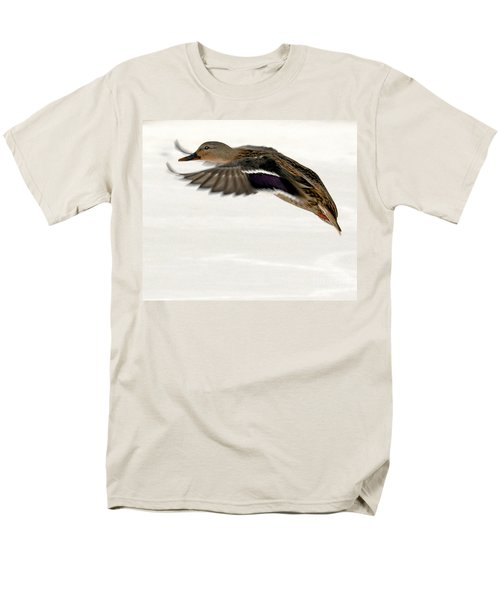 Men's T-Shirt  (Regular Fit) featuring the photograph Taking Off by John Telfer