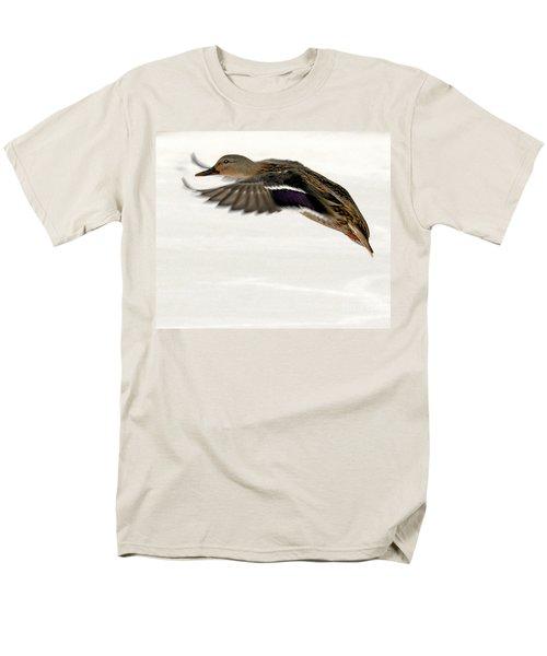 Taking Off Men's T-Shirt  (Regular Fit) by John Telfer