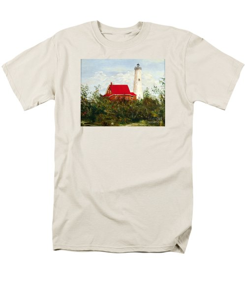 Men's T-Shirt  (Regular Fit) featuring the painting Tawas by Lee Piper