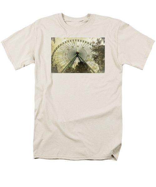 Texas Star Old Fashioned Fun Men's T-Shirt  (Regular Fit) by Joan Carroll
