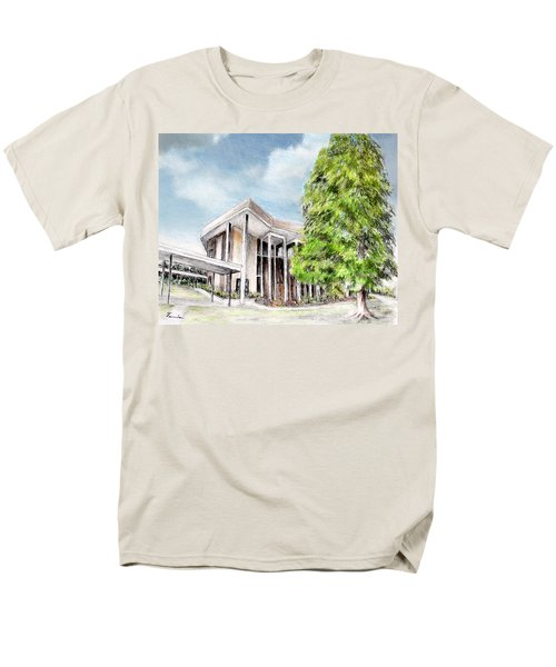 The Angles Of A Modern Architecture  Men's T-Shirt  (Regular Fit) by Danuta Bennett