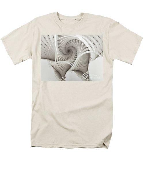 The Beauty Of Math-fractal Art Men's T-Shirt  (Regular Fit) by Karin Kuhlmann