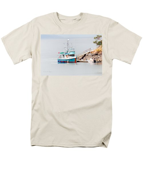 Men's T-Shirt  (Regular Fit) featuring the photograph The Boat by Jim Thompson