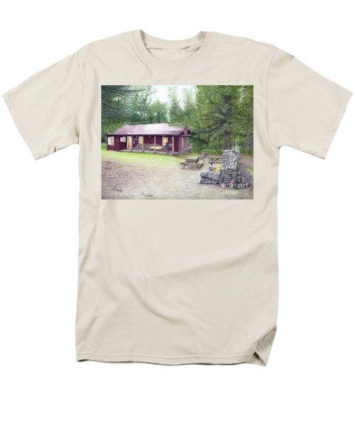 The Cabin In The Woods Men's T-Shirt  (Regular Fit) by Albert Puskaric