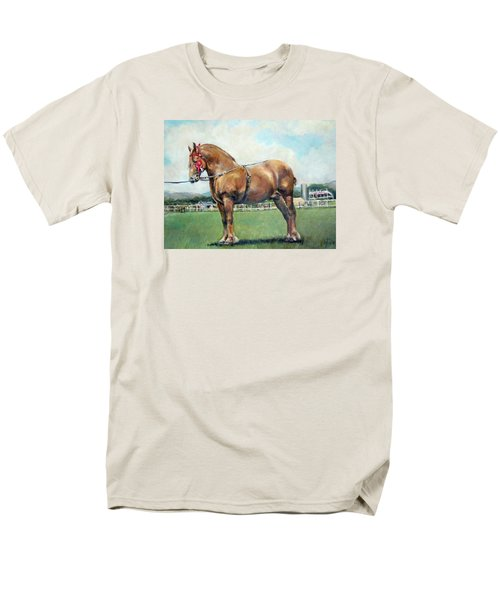 Men's T-Shirt  (Regular Fit) featuring the painting The Champ by Donna Tucker