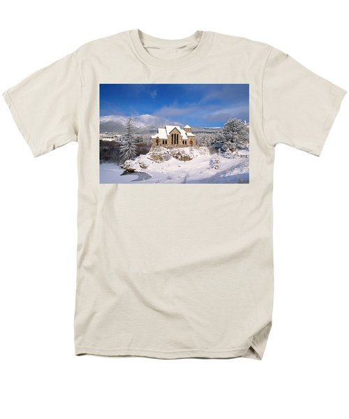 The Chapel On The Rock 3 Men's T-Shirt  (Regular Fit) by Eric Glaser