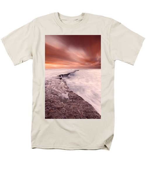 The Edge Of Earth Men's T-Shirt  (Regular Fit) by Jorge Maia