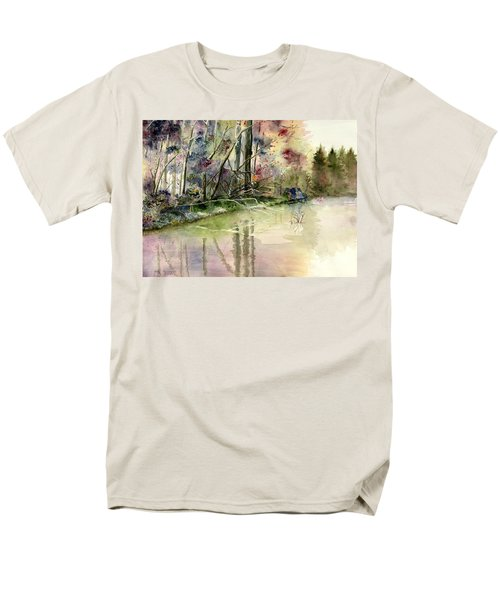 The End Of Wonderful Day Men's T-Shirt  (Regular Fit) by Melly Terpening