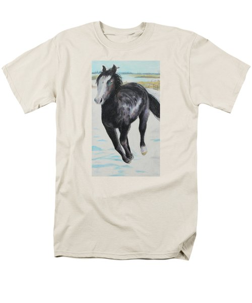 The Feel Of The Cool Air Men's T-Shirt  (Regular Fit) by Jeanne Fischer