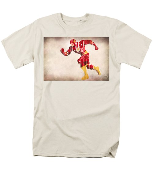 The Flash Men's T-Shirt  (Regular Fit) by Ayse Deniz