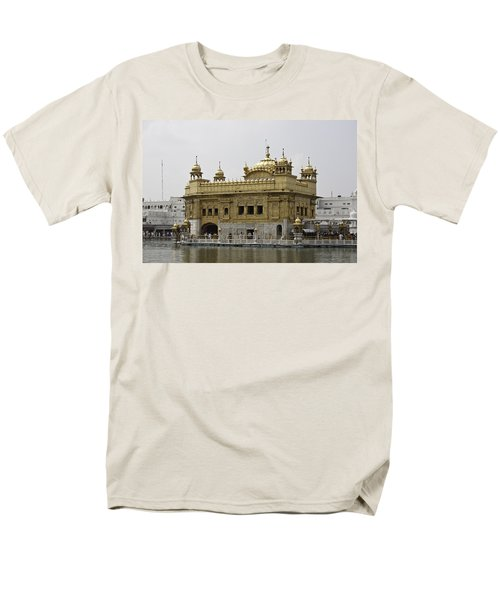 Men's T-Shirt  (Regular Fit) featuring the photograph The Golden Temple In Amritsar by Ashish Agarwal