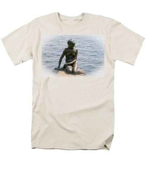 The Little Mermaid Of Copenhagen Men's T-Shirt  (Regular Fit) by Victoria Harrington