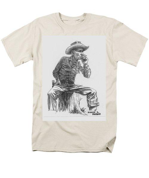 The Lookout Men's T-Shirt  (Regular Fit) by Duane R Probus
