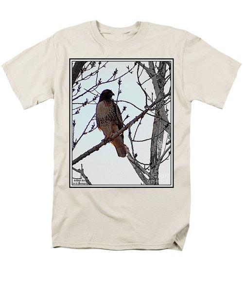 The Majestic Hawk Men's T-Shirt  (Regular Fit) by Bobbee Rickard