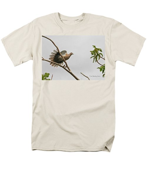 Men's T-Shirt  (Regular Fit) featuring the photograph The New Dove In Town by Tom Janca