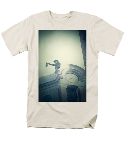 Men's T-Shirt  (Regular Fit) featuring the photograph The Night Watchman by Trish Mistric