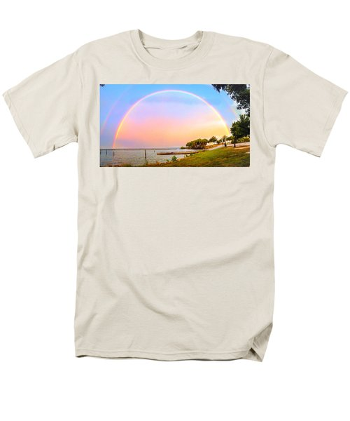 The Rainbow Men's T-Shirt  (Regular Fit) by Carlos Avila