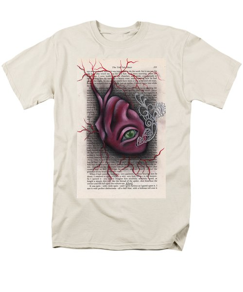 The Tell Tale Heart Men's T-Shirt  (Regular Fit) by Abril Andrade Griffith