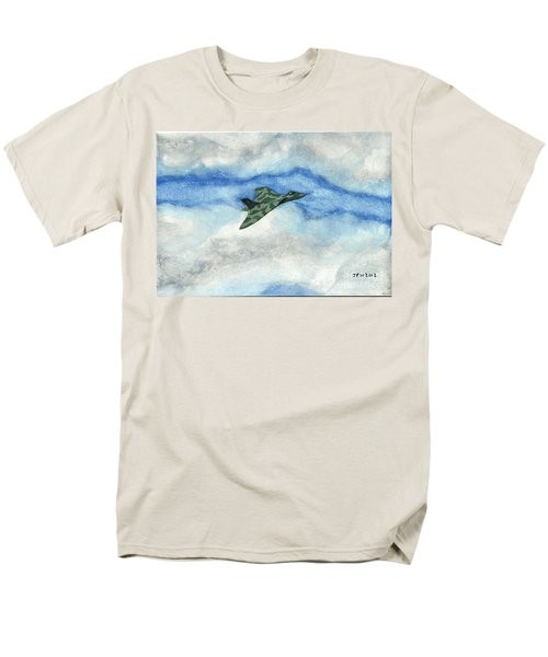 Men's T-Shirt  (Regular Fit) featuring the painting The Vulcan Bomber by John Williams