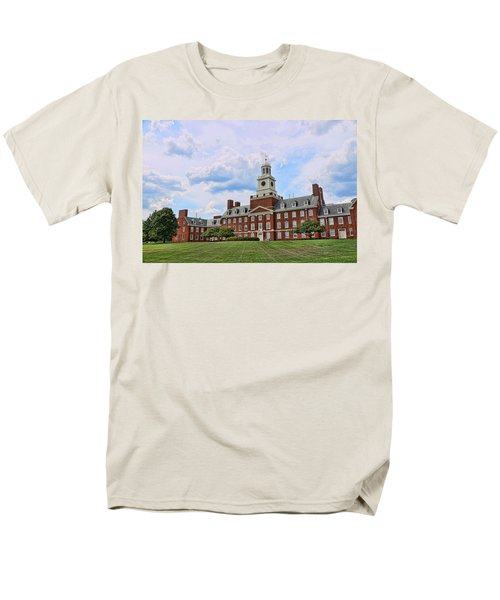 The Waksman Institute Of Microbiology Men's T-Shirt  (Regular Fit) by Allen Beatty