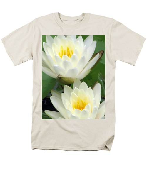 Men's T-Shirt  (Regular Fit) featuring the photograph The Water Lilies Collection - 09 by Pamela Critchlow