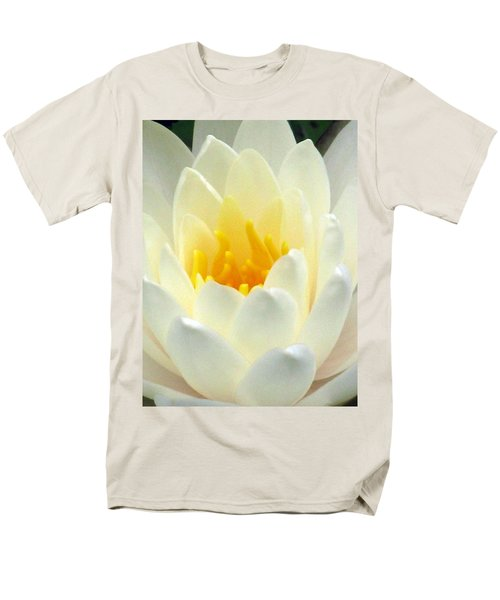 Men's T-Shirt  (Regular Fit) featuring the photograph The Water Lilies Collection - 10 by Pamela Critchlow