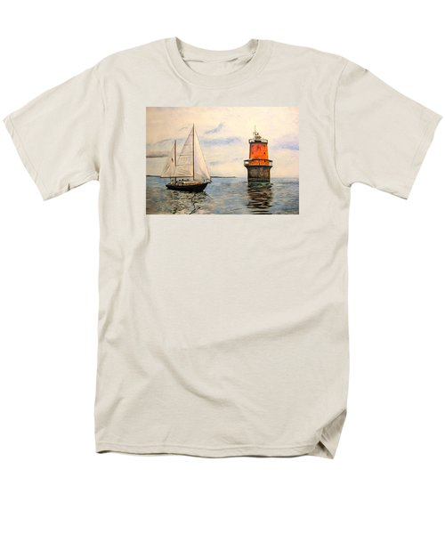 Thimble Shoals Light Men's T-Shirt  (Regular Fit) by Stan Tenney