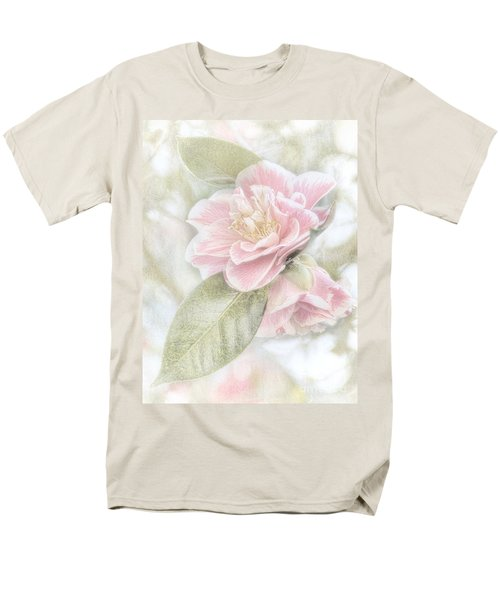 Think Pink Men's T-Shirt  (Regular Fit) by Peggy Hughes