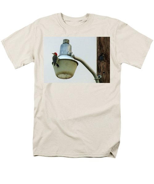 This Wood Tastes Funny Men's T-Shirt  (Regular Fit) by Fortunate Findings Shirley Dickerson