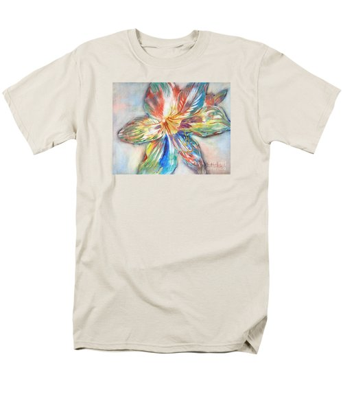 Tiger Lilly Men's T-Shirt  (Regular Fit) by Mary Haley-Rocks