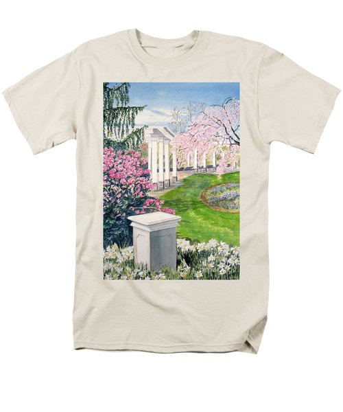Men's T-Shirt  (Regular Fit) featuring the painting Tower Hill by Carol Flagg