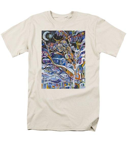 Transitions Men's T-Shirt  (Regular Fit) by Leela Payne