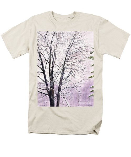 Men's T-Shirt  (Regular Fit) featuring the painting Tree Memories by Melly Terpening