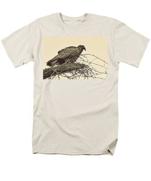 Turkey Vulture V2 Men's T-Shirt  (Regular Fit) by Douglas Barnard