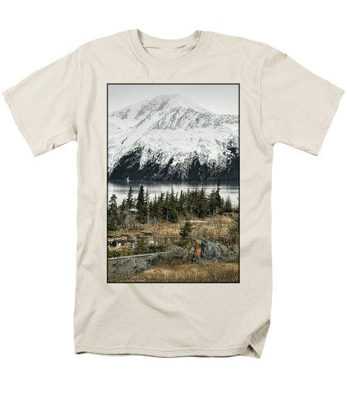 Turnagain Arm  Men's T-Shirt  (Regular Fit)
