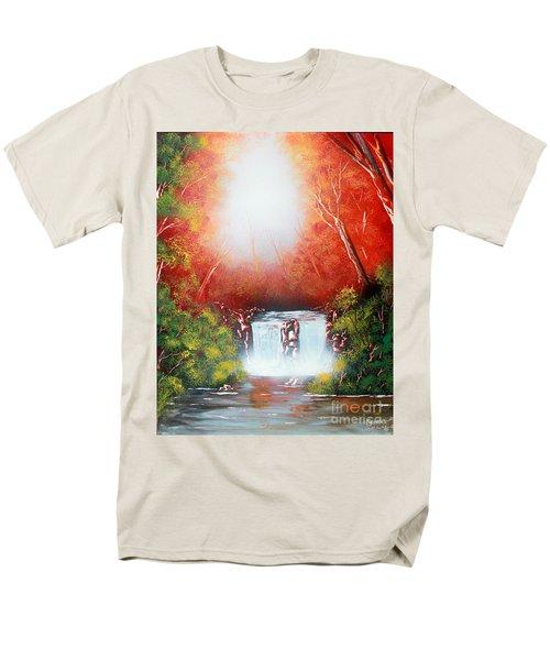 Twin Falls  Men's T-Shirt  (Regular Fit)