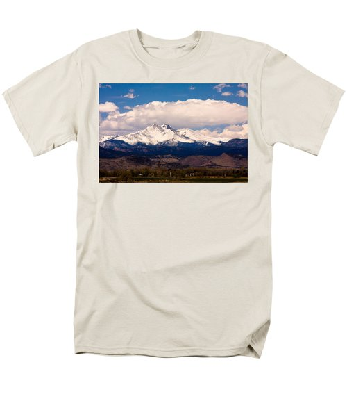 Twin Peaks Snow Covered Men's T-Shirt  (Regular Fit) by James BO  Insogna