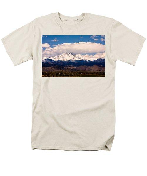 Twin Peaks Snow Covered Men's T-Shirt  (Regular Fit)