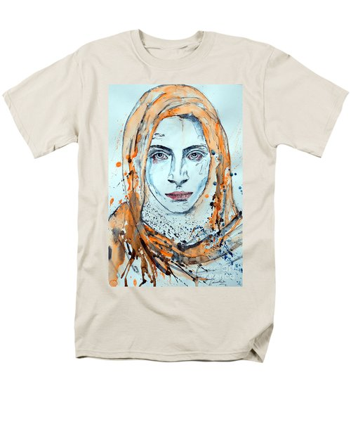 Men's T-Shirt  (Regular Fit) featuring the painting Untitled 10 by Ismeta Gruenwald
