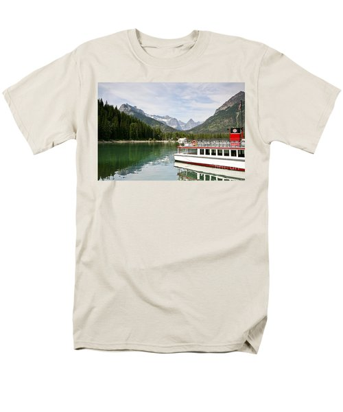 Upper Waterton Lakes Men's T-Shirt  (Regular Fit) by Teresa Zieba