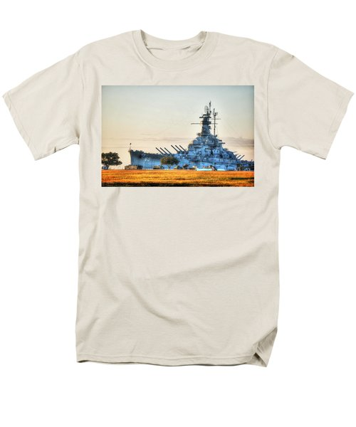 Uss Alabama Men's T-Shirt  (Regular Fit) by Michael Thomas