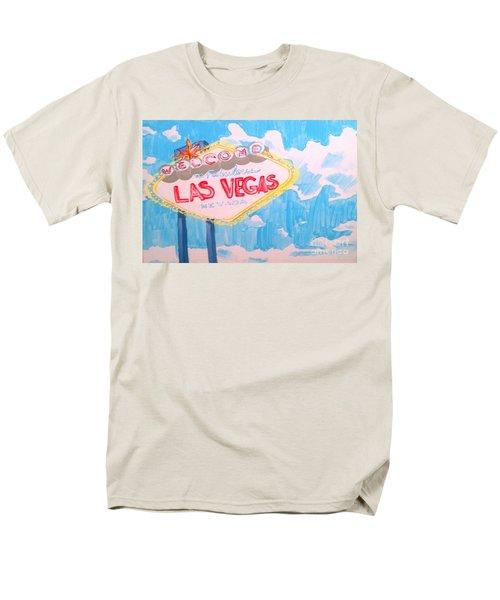 Vegas Men's T-Shirt  (Regular Fit) by Marisela Mungia