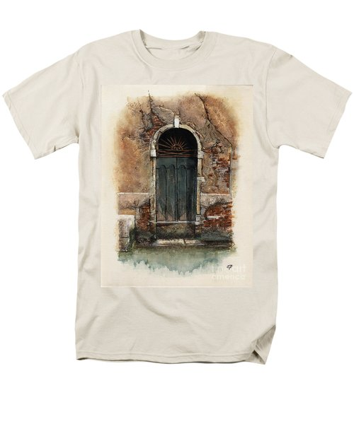 Venetian Door 01 Elena Yakubovich Men's T-Shirt  (Regular Fit) by Elena Yakubovich