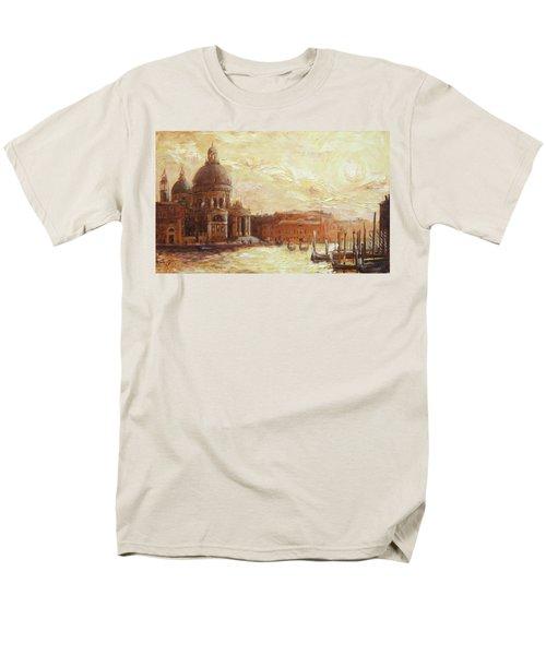 Venice - Santa Maria Della Salute Men's T-Shirt  (Regular Fit) by Irek Szelag