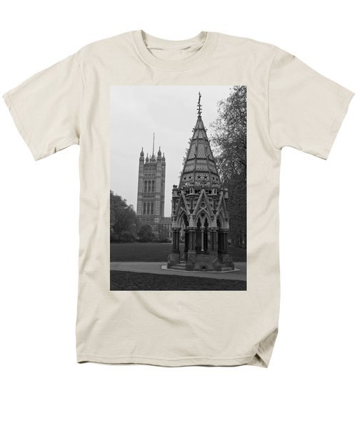 Men's T-Shirt  (Regular Fit) featuring the photograph Victoria Tower Garden by Maj Seda