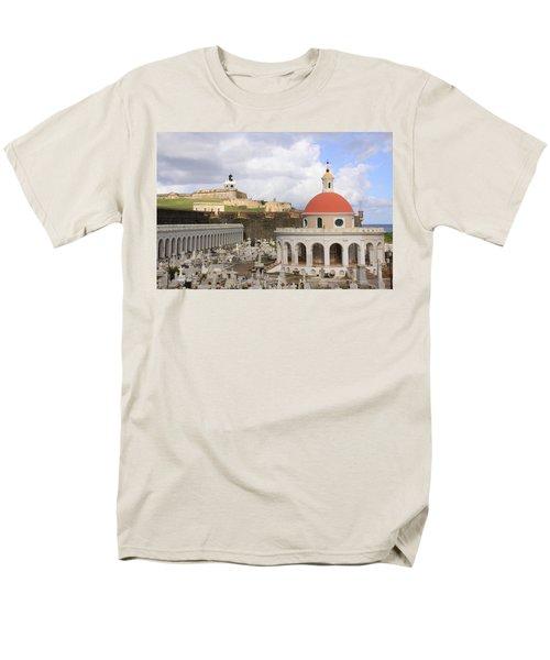 Viejo San Juan Men's T-Shirt  (Regular Fit) by Daniel Sheldon
