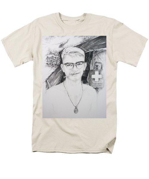 Vietnam Medic Men's T-Shirt  (Regular Fit) by Scott and Dixie Wiley