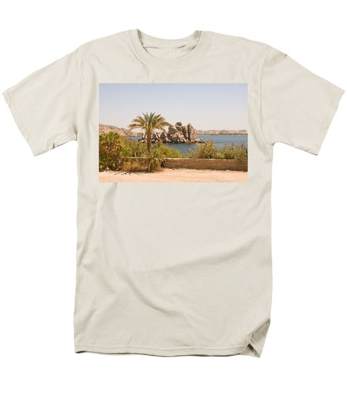 View Of Lake Men's T-Shirt  (Regular Fit) by James Gay