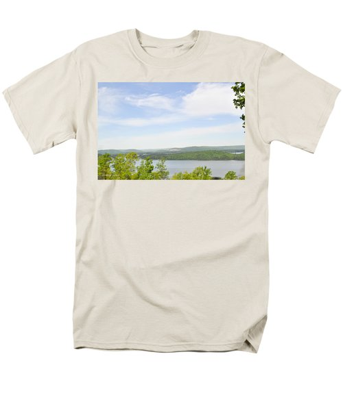 View Of The Mountains Of Alabama Men's T-Shirt  (Regular Fit) by Verana Stark
